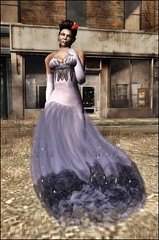 LC-  Ebanu Evening Gown [Slink Omega Lolas] purple - FREEBIE