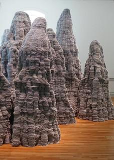 Untitled installation by Tara Donovan at Renwick Gallery, Washington, D.C.