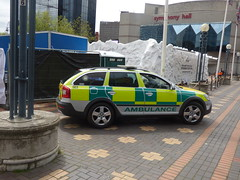 Cools Light Ice Cave - Centenary Square - Ambulance car - Elite - Fire Medical Security