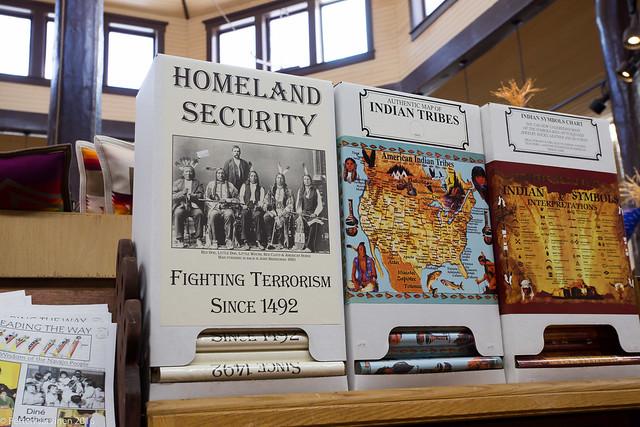 Alkuperäiskansan näkökulma: Fighting terrorism since 1492.
