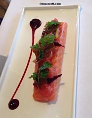 The Samling - Shetland Salmon - Confit Shetland Sa…