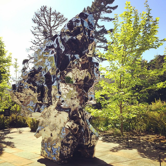 Artificial Rock, Zhan Wang #deYoungmuseum #museums #goldengatepark #sanfrancisco