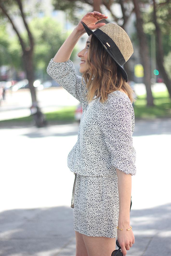 Black and White Jumper Zara Hat Uterqüe 16