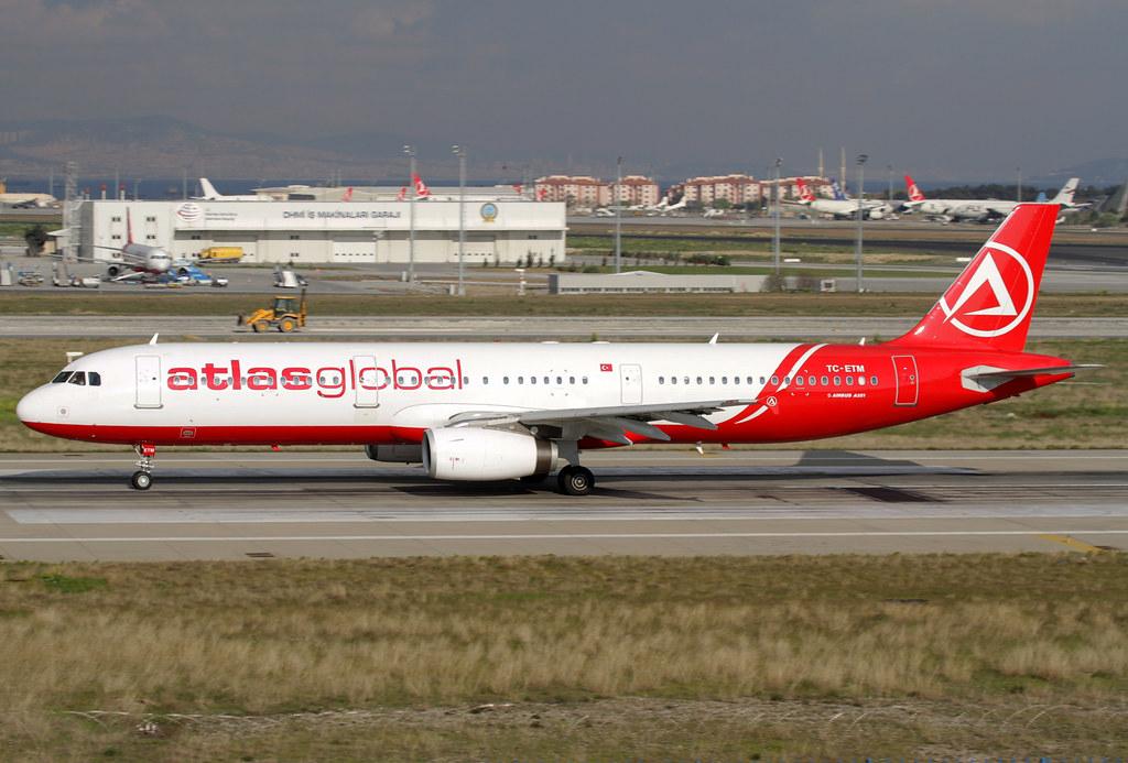 TC-ETM - A321 - AtlasGlobal UA