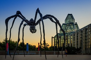 Maman - Spider Sculpture - National Gallery of Canada