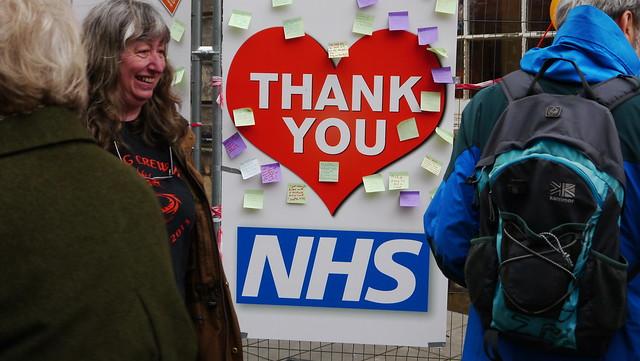 Lancaster Thanks NHS
