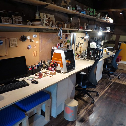 二階スペース #FabLab鎌倉