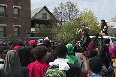 Musicians on Black Lives Matter march