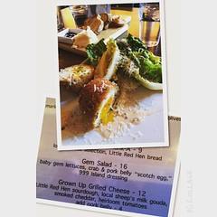 This Gem Salad however is #devine at #MasonBar #shareslo