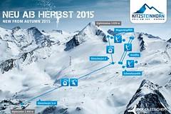 Na Kitzsteinhorn rychleji a pohodlněji už od podzimu 2015