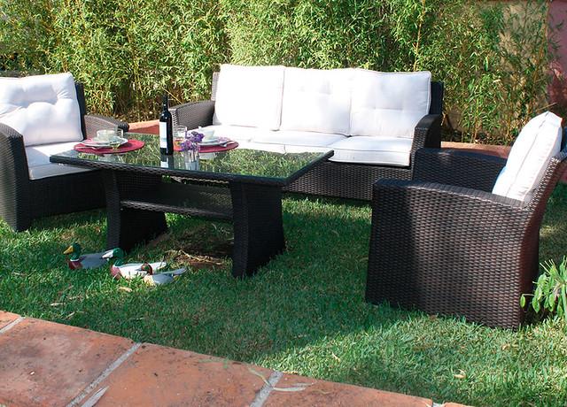 Aluminio y fibra sint tica gran opci n para muebles de jard n aion sur peri dico digital de - Muebles jardin fibra sintetica ...