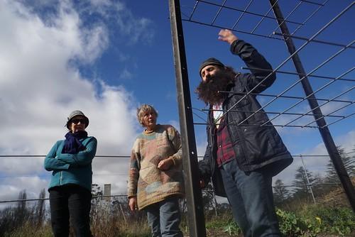 Costa visits Armidale Community Garden