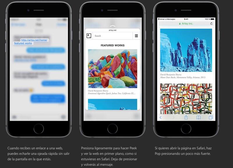 3d touch. Acciones Rápidas en iPhone 6s - jfashion.co