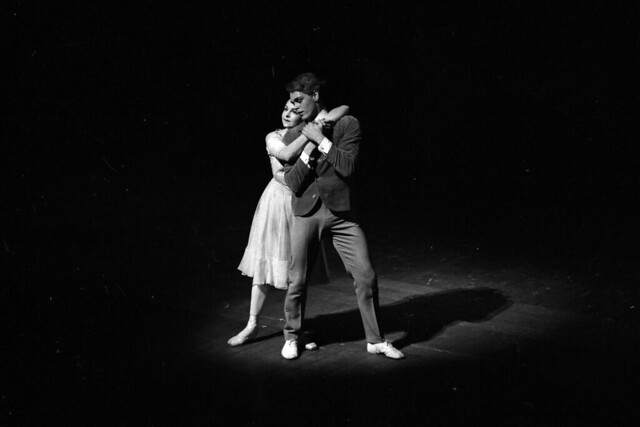 Lynn Seymour as The Girl and Christopher Gable as Her Cousin in The Invitation (1960), The Royal Ballet © ROH Collections. Photograph by Donald Southern