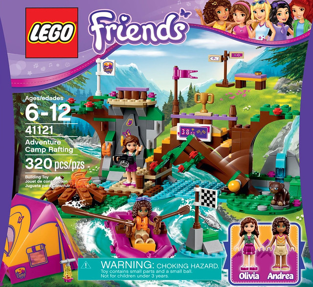 Lego Friends 41121 Adventure Camp Rafting Review Brickset Lego