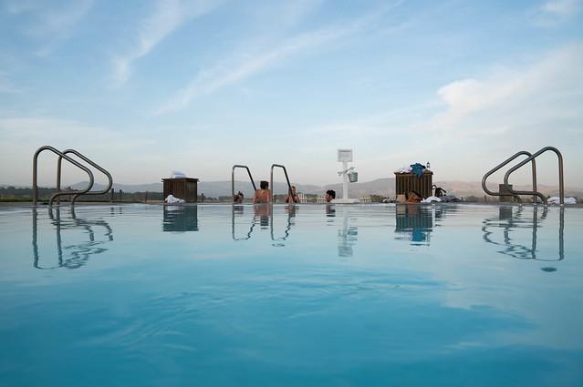 Pool at Carneros Inn - Napa Valley, California