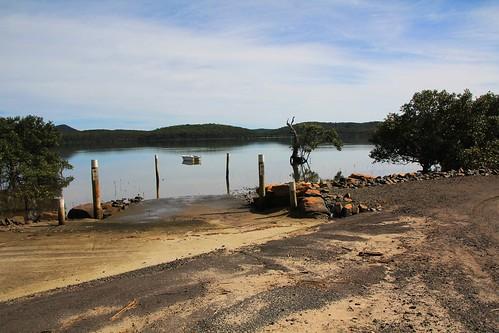 Boat Ramp, Steven Rich Reserve, Bundabah near Tea Gardens, NSW 17.4.2015