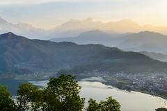 Sunrise over Pokhara
