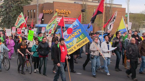 May Day 2015 - Edmonton