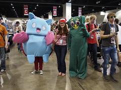 Catbug, Waldo, and Gumby