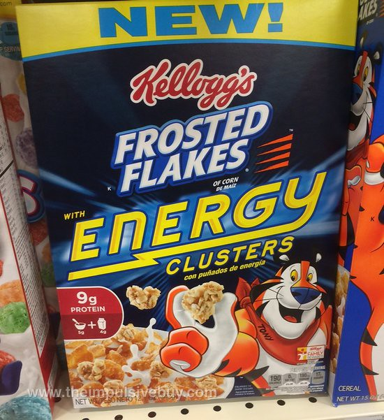 listing for this cereal says the energy clusters are granola clusters ...