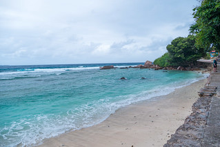 Anse Banane の画像. sc seychelles ladigue ansebanane