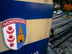 Montreux mountain train