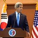 Secretary Kerry, Republic of Korea Foreign Minister Yun During News Conference Following Bilateral Meeting in Seoul