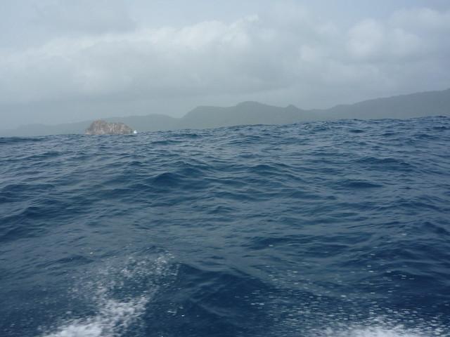 Crossing the Gulf of Urabá