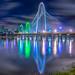Dallas Texas Skyline - Trinity River Flood by Matt Pasant