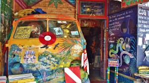 Entrance to the Nimbin Museum.