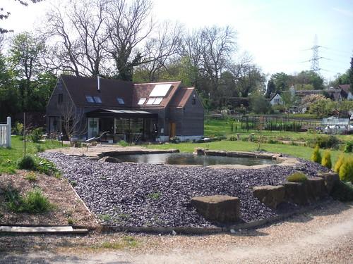 Hideous pond, The Nook, Baldock