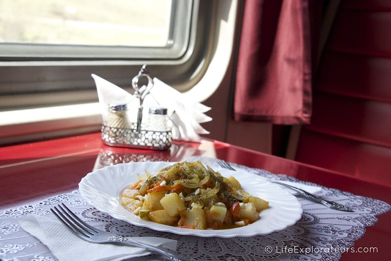 Dining on the Trans-Siberian