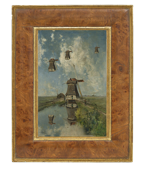 Flying wind mills / framed