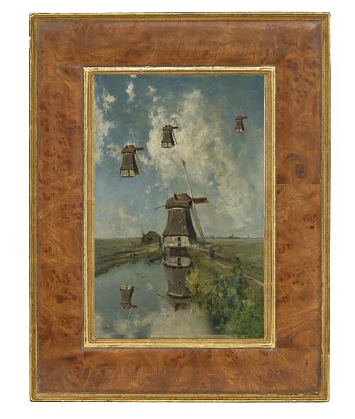 Flying wind mills / framed