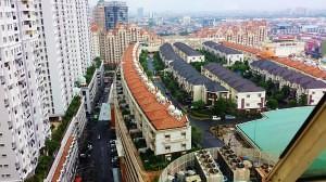 The neighborhood on top of the Mall of Indonesia