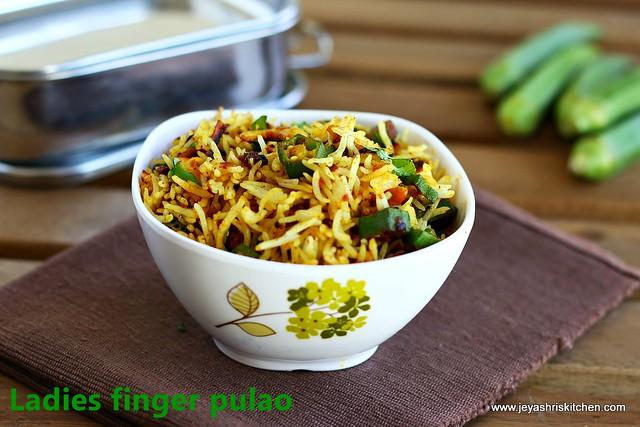 bhindi-rice