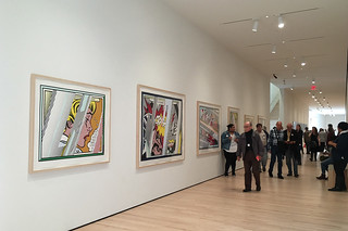 SF MoMA - Opening Roy Lichtenstein Reflection Series