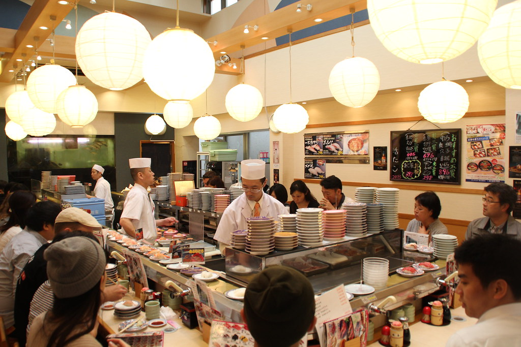 running sushi Japan