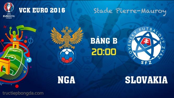 Nga vs Slovakia
