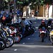 Motorcycles on Cannery Row, Monterey, California