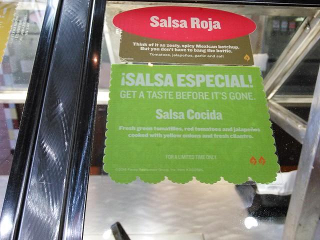 ¡Salsa Especial! Salsa Cocida at Taco Cabana