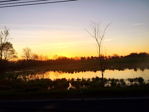 reflection sunrise brimfield