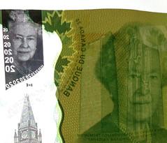 Canadian $20 Dollar Bill