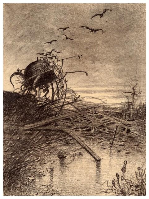 020-La Guerre des Mondes illustreè par Alvim Corrêa-1906- Heritage Auctions
