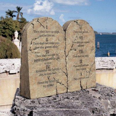 Design Toscano DB43010 Ten Commandments Statue