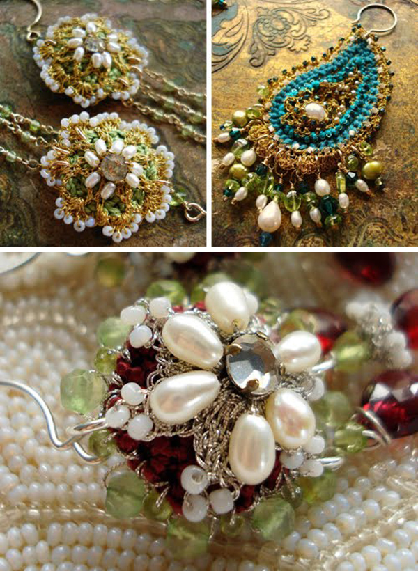 crochet crush : the talented Miss Ivy of Edera Jewelry | Emma Lamb