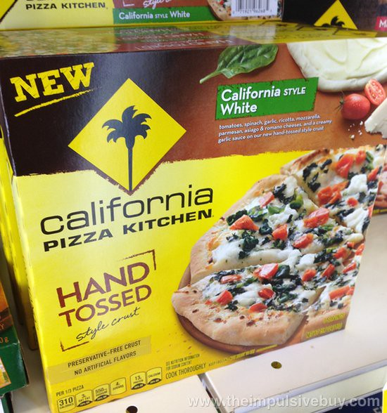 California Pizza Kitchen California Style White Hand Tossed Style Crust Pizza