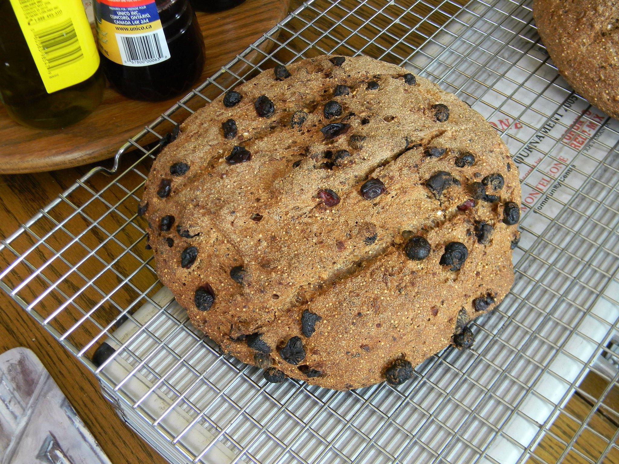 Kitchen Sink Bread (AKA Hearty Multigrain Bread)