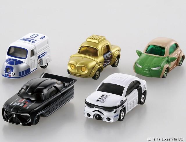【追加大量官圖 & 販售資訊】TOMICA《星際大戰》主題合金小車?!!